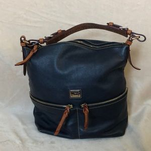 Navy blue Dooney and Bourke hobo purse